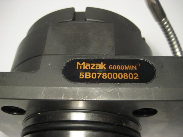 Mazak Vertical Live Tool