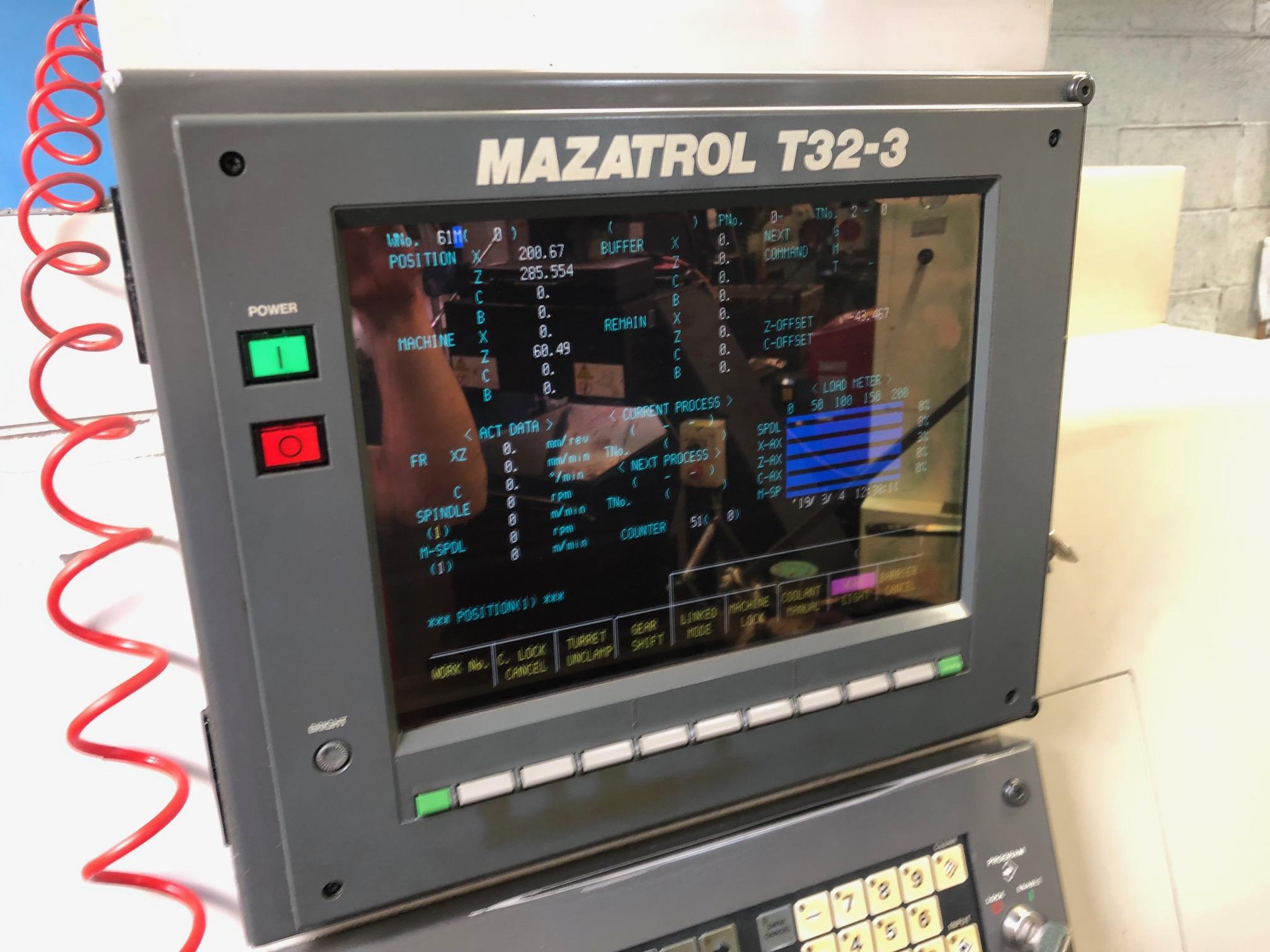 Mazak SQT 10MS Lathe