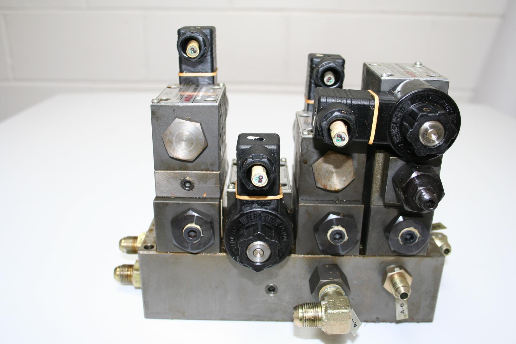 NACHI SOLENOID PACK SLD-G01-A3X-C1-11 / SLD-G01-H3X-G1-11