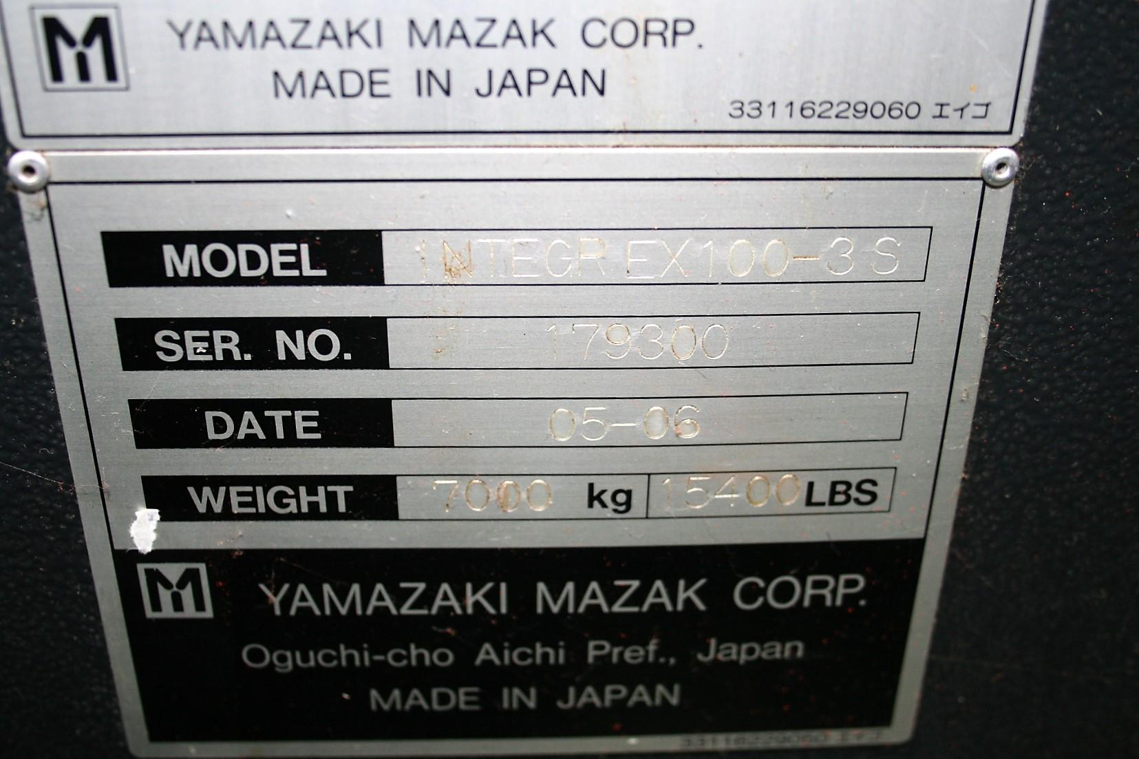 Mazak Integrex 100 III S