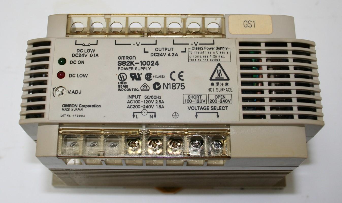 Omron S82k-05024 Power Supply 2