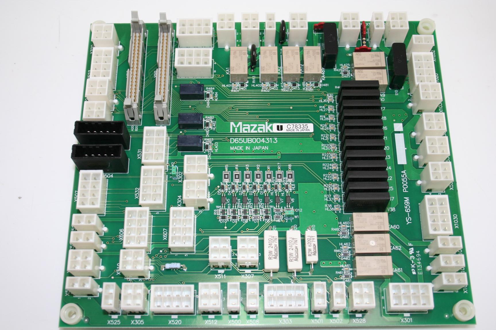 Mazak D65UB004313 PCB main
