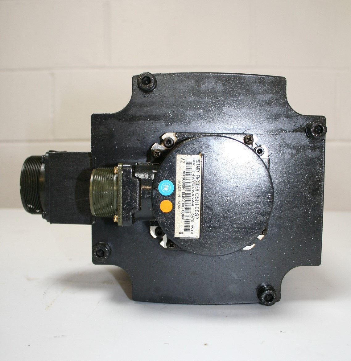 Mazak Mitsubishi HC453S Servo Motor and Encoder (OSE105S2) h