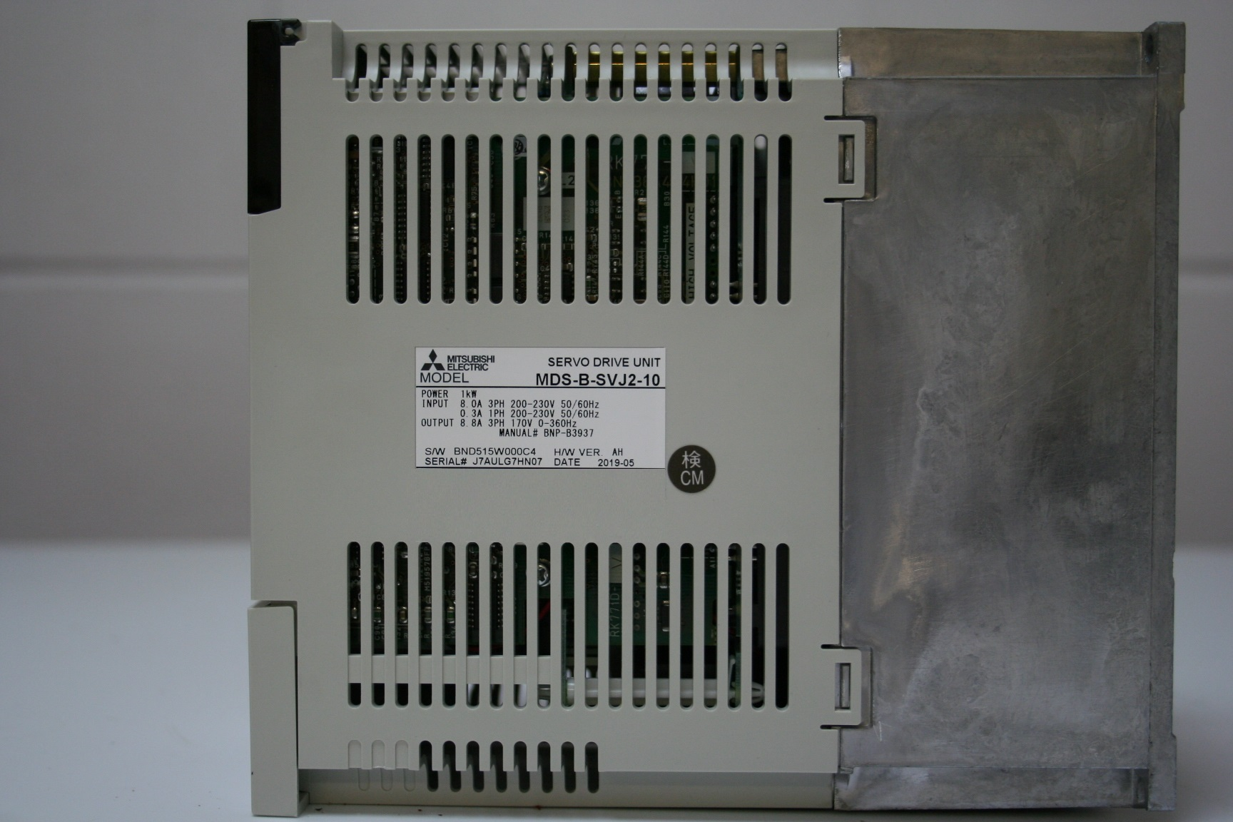 Mazak Mitsubishi Servo Drive Unit Mds-B-SVJ2-10 c