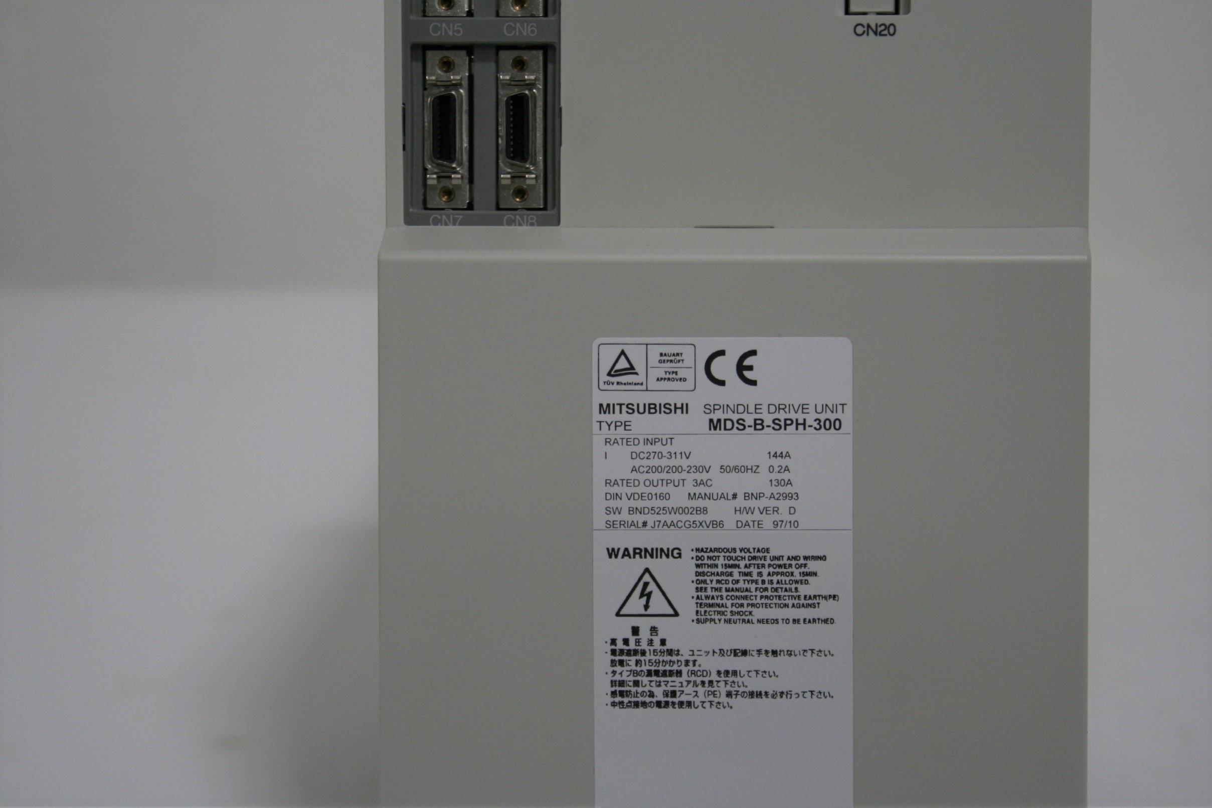MDS-B-SPH-300 Servo Drive c